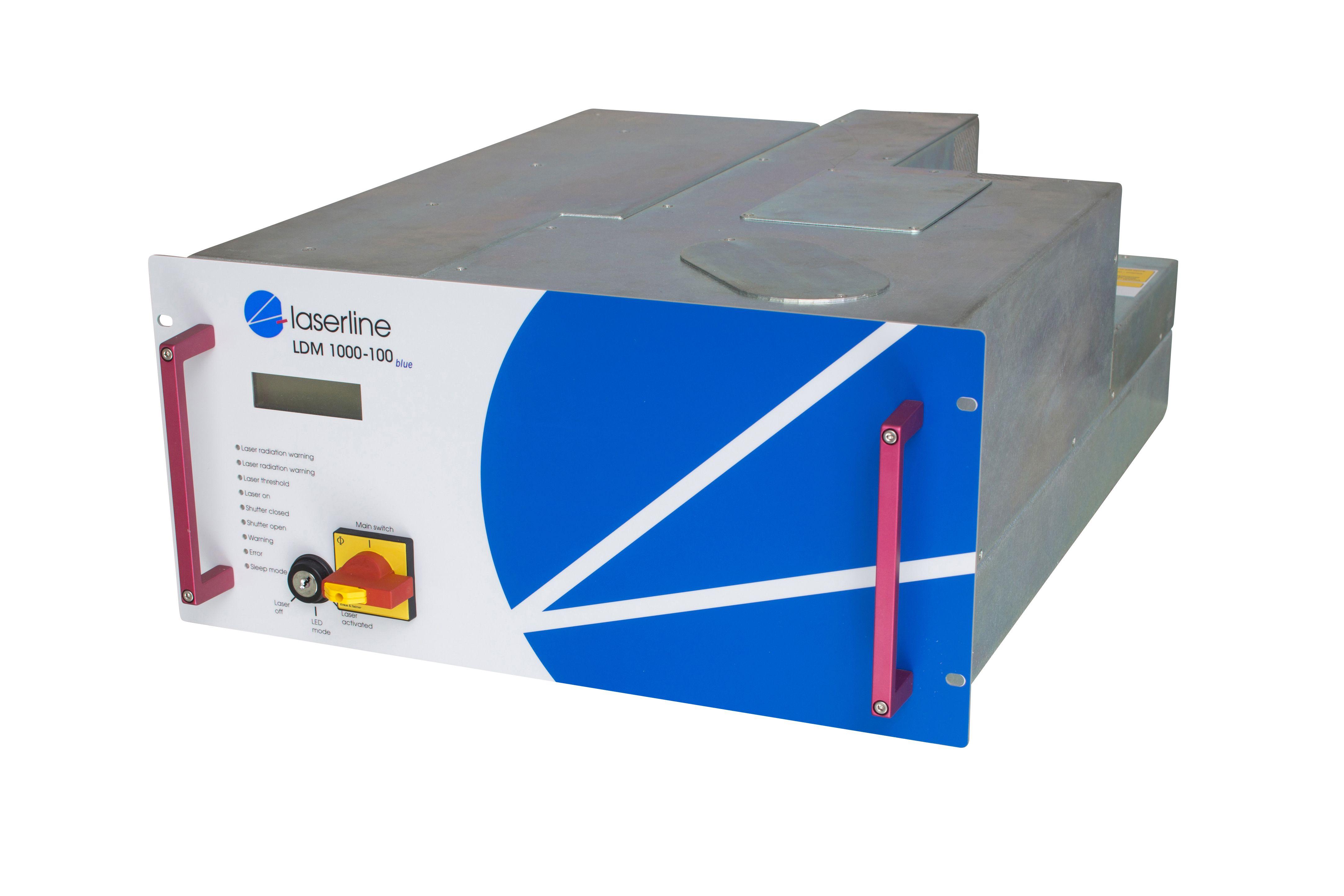 Blauer Diodenlaser LDMblue 1000-100