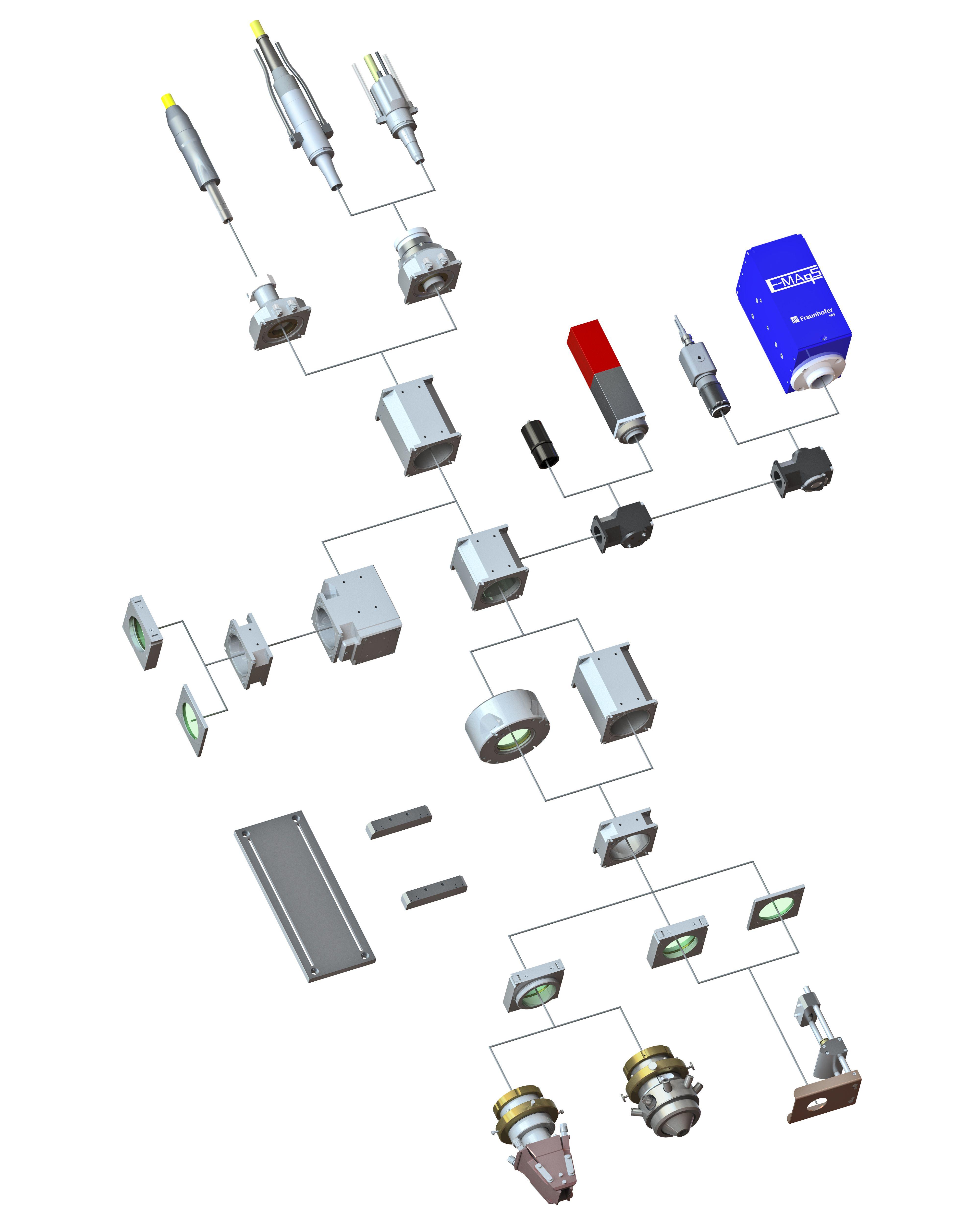 Modularer Systembaukasten OTS Optiken