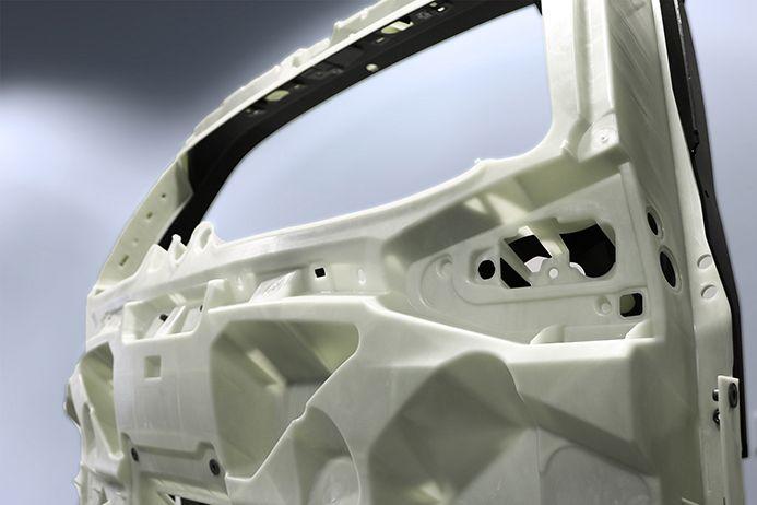 Automobil-Heckklappe Laserschweißen Kunststoff