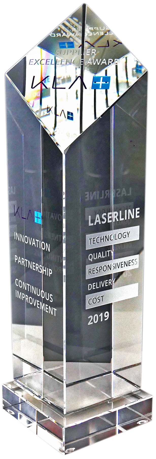 KLA Supplier Excellence Award 2019