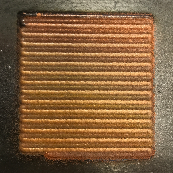 Laser Cladding with Copper Powder on Steel
